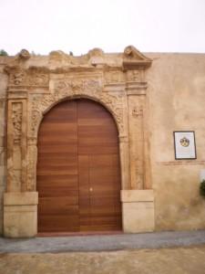 OLYMPUS DIGITAL CAMERA Portada Antiguo Convento Carmelita