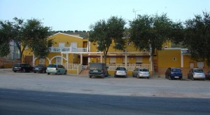fachada hostal carmona